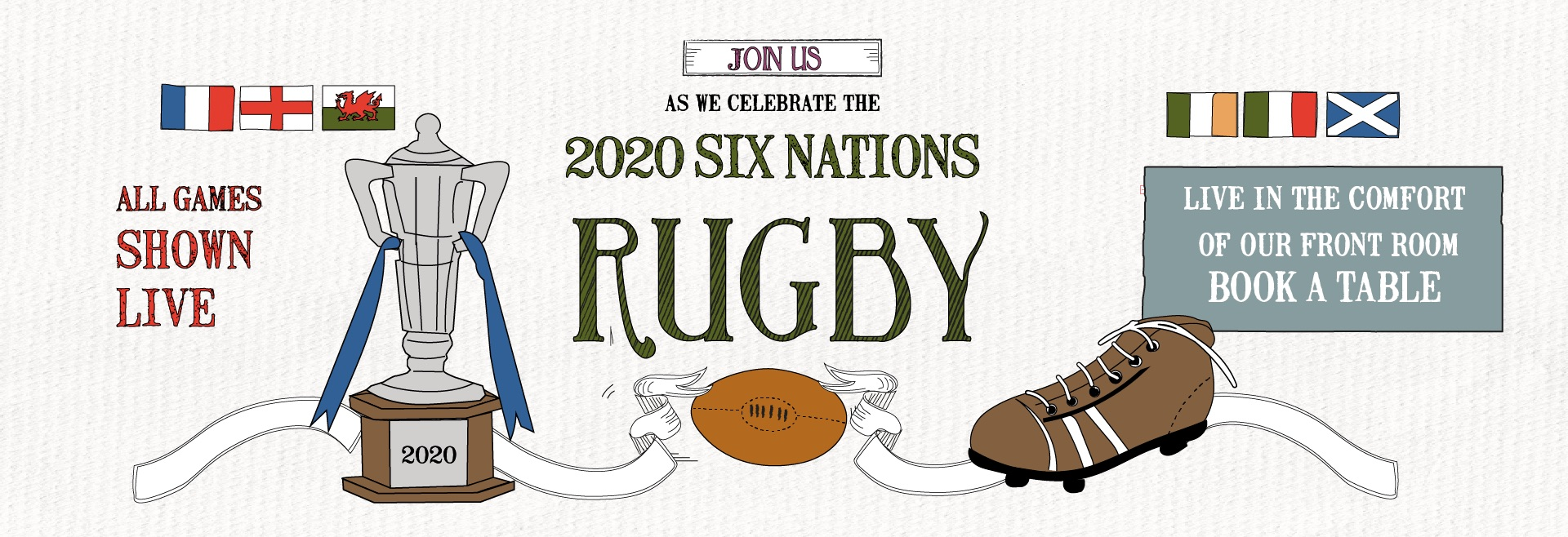 Six Nations at The Princess Of Wales